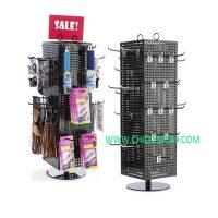 pegboard display rack
