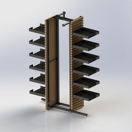 4 way display stand