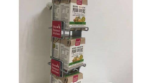 pep food display rack