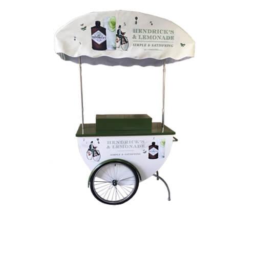 wine display cart