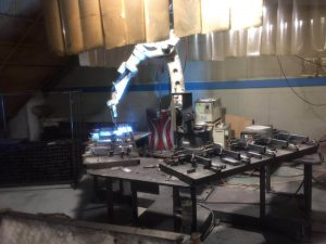 robot welding chic display